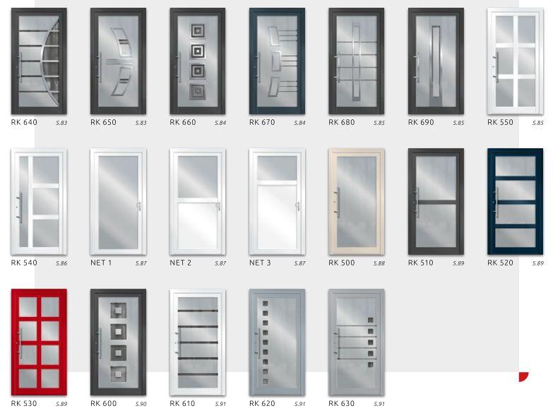 Haustüren modern weiß  &xnbsp;Alu Haustüren - Haustüren Aluminium kaufen | www.adrik.de