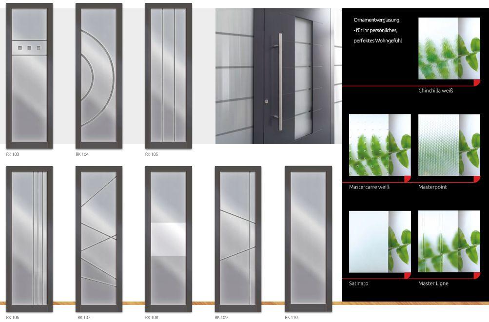 Haustüren mit seitenteil und briefkasten  &xnbsp;Alu Haustüren - Haustüren Aluminium kaufen | www.adrik.de