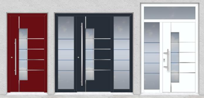 Gut bekannt &xnbsp;Alu Haustüren - Haustüren Aluminium kaufen | www.adrik.de GA21