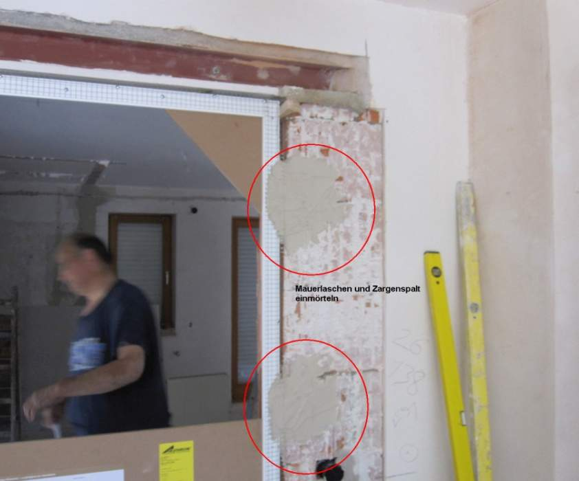 Unsichtbare Tür E-Serie Montage-Infos