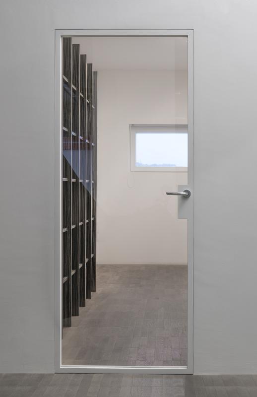 Gut gemocht E-Serie wandbündige Glastüren Glas-Max mit unsichtbaren Alu-Zargen VU27