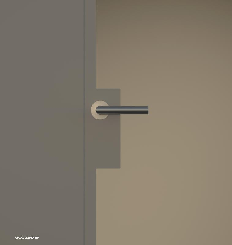 Wandbündige Türen mit unsichtbaren Rahmen Tapetentüren Revisionstüren