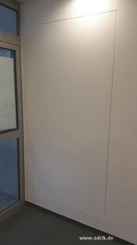 Gut gemocht Wandbündige Türen mit unsichtbaren Rahmen Tapetentüren HM02