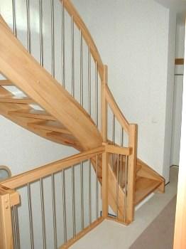 Ausziehbare treppen holz